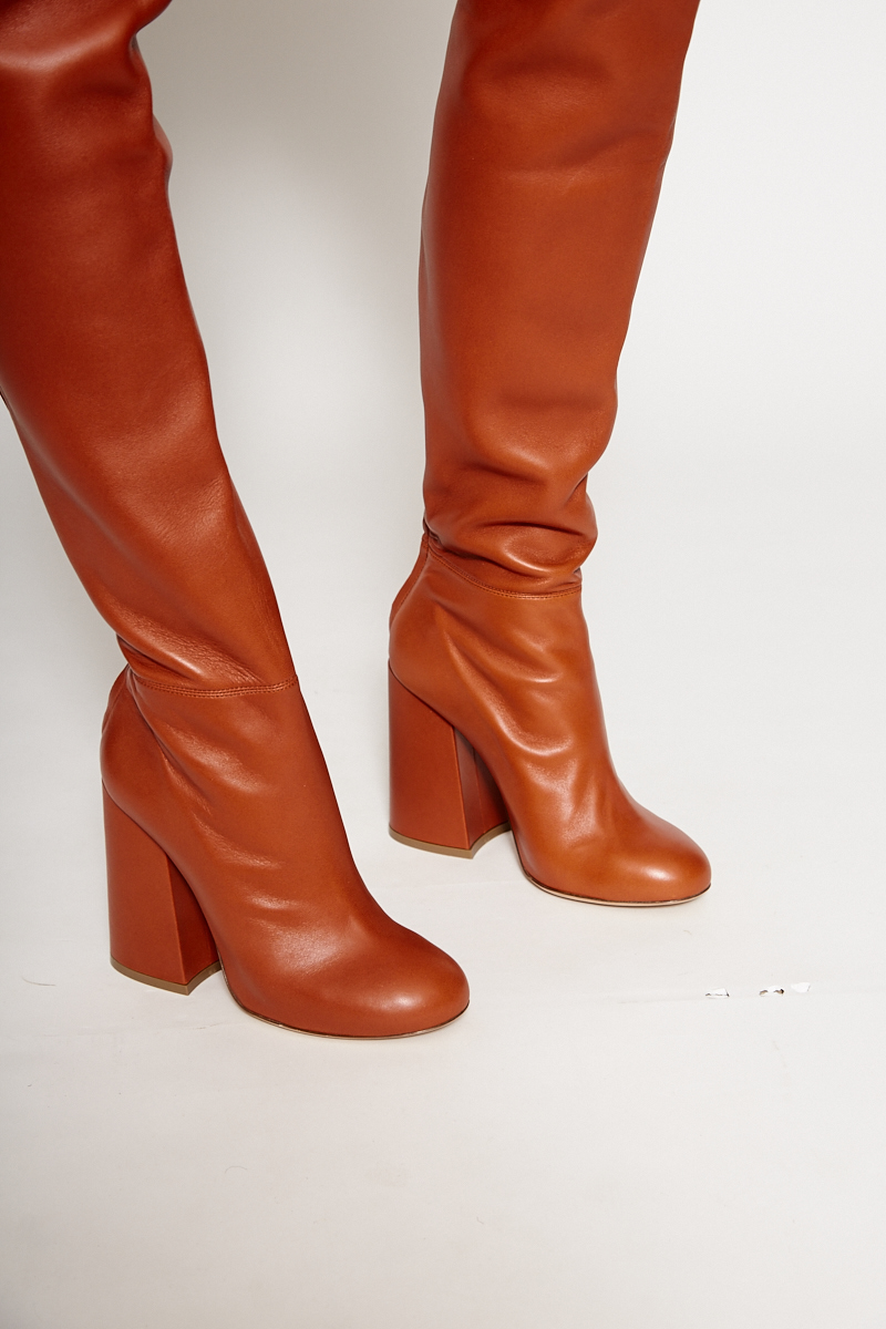 The ELLERY 'SILHOUTTE TANNED LEATHER BOOT'